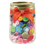 Paper House Productions - Tricky Notebooks - Mason Jar with Buttons