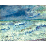 Paper House Productions - Impressions Collection - 12 x 12 Paper - Seascape