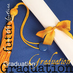 Paper House Productions - Graduation Collection - 12 x 12 Paper - Graduation Cap with Words