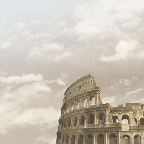 Paper House Productions - Rome Collection - 12 x 12 Paper - Roman Colosseum