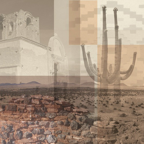 Paper House Productions - Arizona Collection - 12 x 12 Paper - Arizona Collage