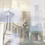 Paper House Productions - Chicago Collection - 12 x 12 Paper - Chicago Collage