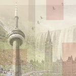 Paper House Productions - Canada Collection - 12 x 12 Paper - Canada Collage