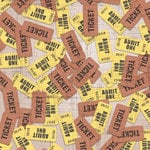 Paper House Productions - Movies Collection - 12 x 12 Paper - Movie Tickets
