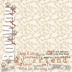 Paper House Productions - Dog Collection - 12 x 12 Paper - Dog Lover