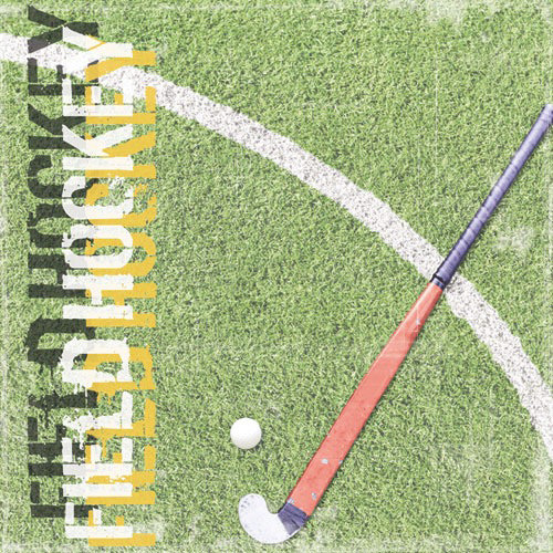 Paper House Productions - Field Hockey Collection - 12 x 12 Paper - Field Hockey