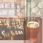 Paper House Productions - Beer Collection - 12 x 12 Paper - Beer Collage