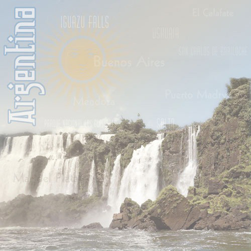Paper House Productions - Argentina Collection - 12 x 12 Paper - Iguazu Falls