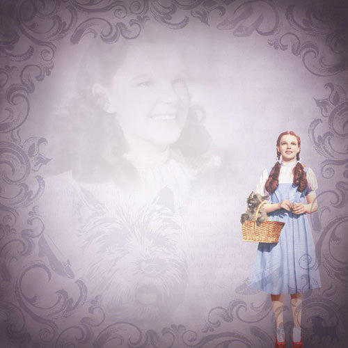 Paper House Productions - Wizard of Oz Collection - 12 x 12 Paper - Dorothy