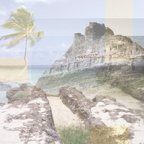 Paper House Productions - West Caribbean Collection - 12 x 12 Paper - Western Caribbean Collage