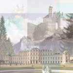 Paper House Productions - Austria Collection - 12 x 12 Paper - Austria Collage