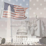 Paper House Productions - Washington DC Collection - 12 x 12 Paper - Washington DC