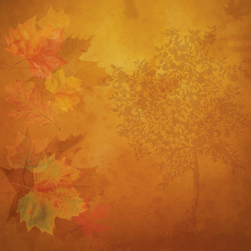 Paper House Productions - Autumn Collection - 12 x 12 Paper - Autumn Day