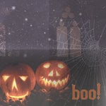 Paper House Productions - Halloween Collection - 12 x 12 Paper - Boo!