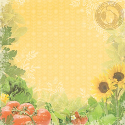 Paper House Productions - Gardening Collection - 12 x 12 Paper - Home Grown