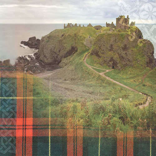 Paper House Productions - Scotland Collection - 12 x 12 Paper - Scottish Castle