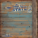Paper House Productions - Michigan Collection - 12 x 12 Paper - The Great Lake State