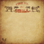 Paper House Productions - BBQ Collection - 12 x 12 Paper - Fire Up the Grill