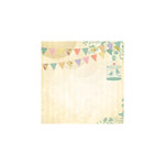 Paper House Productions - Vintage Wedding Collection - 12 x 12 Paper - Love Birds