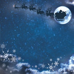 Paper House Productions - Night Before Christmas Collection - 12 x 12 Paper - Night Before Christmas