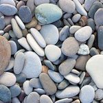 Paper House Productions - Fishing Collection - 12 x 12 Paper - River Rocks
