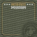 Paper House Productions - 12 x 12 Paper - US Marines Emblem