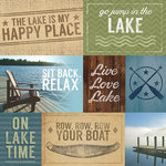 Paper House Productions - At the Lake Collection - 12 x 12 Paper - At the Lake Tags