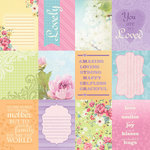 Paper House Productions - Mom Collection - 12 x 12 Paper - Mom Tags