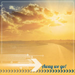 Paper House Productions - Family Vacation Collection - 12 x 12 Paper - Away We Go