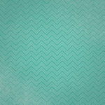 Paper House Productions - Family Vacation Collection - 12 x 12 Paper - Teal Chevrons
