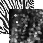 Paper House Productions - Color Ways Collection - Noir - 12 x 12 Double Sided Paper - Bokeh