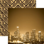 Paper House Productions - Color Ways Collection - Gatsby - 12 x 12 Double Sided Paper - City Life