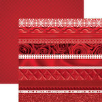 Paper House Productions - Color Ways Collection - Rouge - 12 x 12 Double Sided Paper - Trimmings