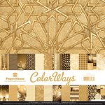 Paper House Productions - Color Ways Collection - Gatsby - 12 x 12 Paper Pack