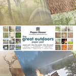 Paper House Productions - 12 x 12 Paper Pad - Great Outdoors