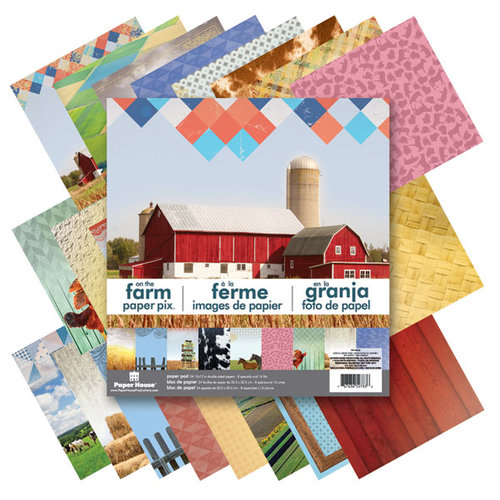 Paper House Productions - 12 x 12 Paper Pad - Farm