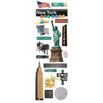 Paper House Productions - New York City Collection - Glitter Rub Ons - New York City