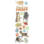 Paper House Productions - Cat Collection - Glitter Rub Ons - Feelin Frisky