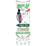 Paper House Productions - Golf Collection - Glitter Rub Ons - Golf