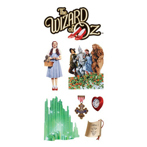 Paper House Productions - Wizard of Oz Collection - StickyPix Stickers - Oz 2