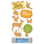 Paper House Productions - Cork'd - Cork Stickers - Woodland