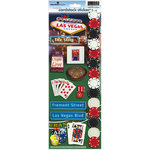 Paper House Productions - Las Vegas Collection - Cardstock Stickers - Las Vegas