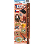 Paper House Productions - Texas Collection - Cardstock Stickers - Texas