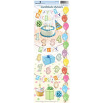 Paper House Productions - Birthday Collection - Cardstock Stickers - Birthday
