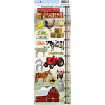 Paper House Productions - Farm Collection - Cardstock Stickers - On the Farm