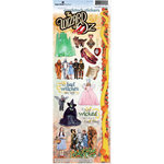 Paper House Productions - Wizard of Oz Collection - Cardstock Stickers - Land of Oz