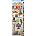 Paper House Productions - Mexico Collection - Cardstock Stickers - Mexico 2