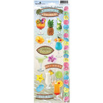 Paper House Productions - Tropical Drinks Collection - Cardstock Stickers - Tropical Drinks