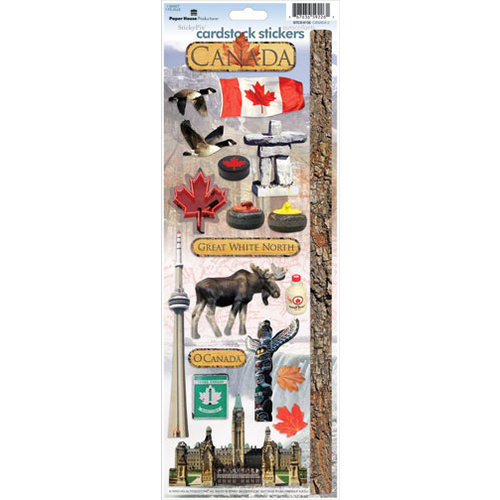 Paper House Productions - Canada Collection - Cardstock Stickers - Canada 2