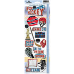 Paper House Productions - Ice Hockey Collection - Cardstock Stickers - Ice Hockey 2